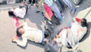Seven Dead in Different Road Accidents Hyderabad - Sakshi