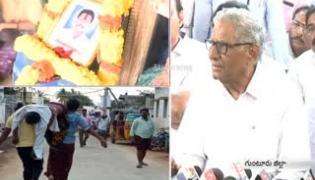 Amaravati, YSRCP Leaders demands  judicial probe, Farmer Kotaiah Suspicious Death  - Sakshi