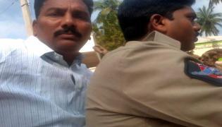 Police Arrest Dalit Leaders Over Chintamaneni Prabhakar Complaint - Sakshi