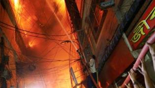 Death toll from Bangladesh building fire climbs to at least 56 - Sakshi