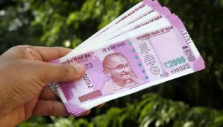 Rupee Opens Nearly Flat at Against the Dollar - Sakshi