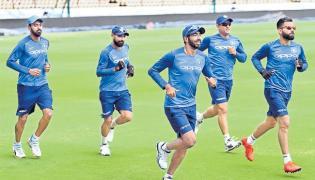 India Vs Australia First ODI In Hyderabad Uppal Stadium - Sakshi