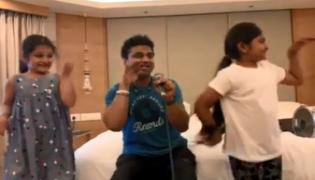 Devi Sri Prasad Shares Mahesh Babu Daughter Sitara Dance Video - Sakshi