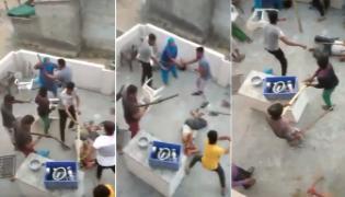 Gang Attacked On Muslim Family Gurugram - Sakshi