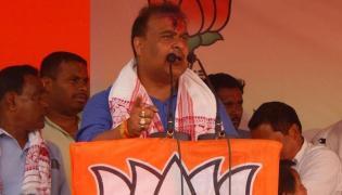 Himanta Biswa Sarma Not To Contest Lok Sabha Polls  - Sakshi
