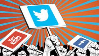 Social Media  High Political Heat By Giving Tweets By Political Leaders - Sakshi