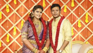 Parthiban daughter Abhinaya Wedding with Naresh Karthik - Sakshi