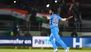 Jasprit Bumrah Displays Fierce Art Of Death Bowling In 2nd ODI - Sakshi