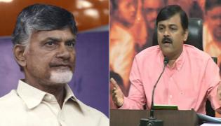 GVL condemns chandrababu comments on EC working in favour of BJP - Sakshi