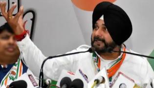 EC Bans Navjot Singh Sidhu From Campaigning - Sakshi