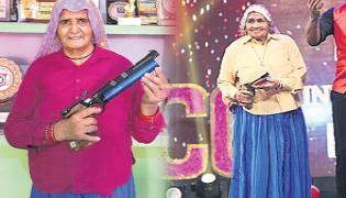 Sharp shooters at the age of 80 in Uttar Pradesh - Sakshi