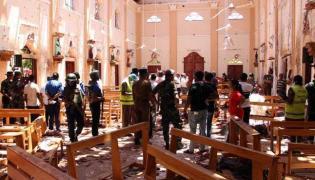 300 People Died In Colombo Bomb Blasting - Sakshi