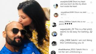 Netizens fires on Sakshi Singh Instagram post