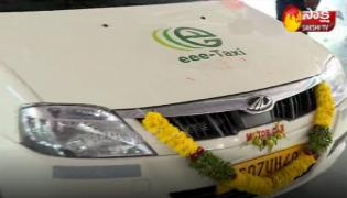 Mahindra Motors Launched Electric Cars In Hyderabad - Sakshi