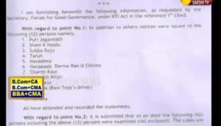 Tollywood Drug Case, Only 4 Charge Sheets Filed, SIT Gives Clean Chit To Film Stars - Sakshi