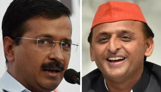 Arvind Kejriwal Dials Akhilesh To Discuss Post Results Strategy - Sakshi