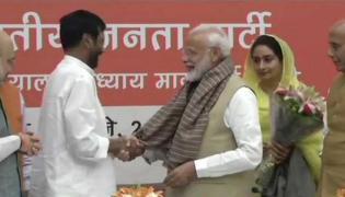 PM Modi  Meets NDA Ministers Ahead Of Amit Shahs Dinner Meet - Sakshi