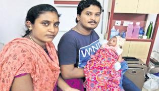 parents Request For Son Treatment Social media Croud Funding - Sakshi