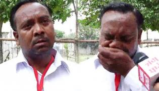 Independent Candidate Cries After He Felt Wrongly Getting Only Five Votes - Sakshi