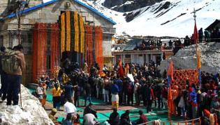 Char Dham Yatra:Kedarnath Temple opens for pilgrims - Sakshi