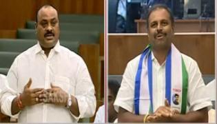 ysrcp MLA Srikanth Reddy takes on Acham Naidu  - Sakshi