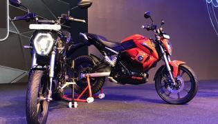 RV 400 Electric Bike From Ankura Electric - Sakshi