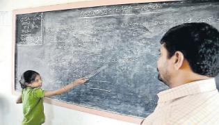 There should be regular teachers - Sakshi