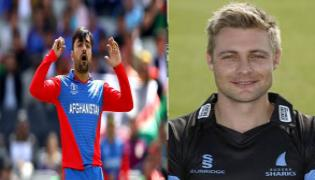 Luke Wright Slams Iceland Cricket For Trolling Rashid Khan - Sakshi