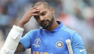 Dhawan Out Of World Cup 2019 Pant Named Replacement - Sakshi