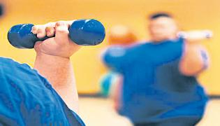 Weight Lifting Helps to Sugar patients - Sakshi