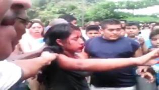 Hindu Girl Burnt Alive Viral Video Is A Old Video  - Sakshi