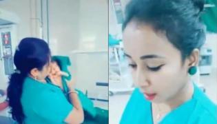 TikTok videos of nurses in Odisha hospital goviral - Sakshi