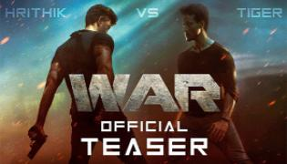 Bollywood WAR Movie teaser Released - Sakshi