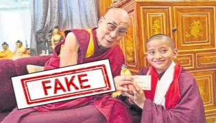 Puttaparthi Student Selected As 15th Dalai Lama Was Fake News - Sakshi