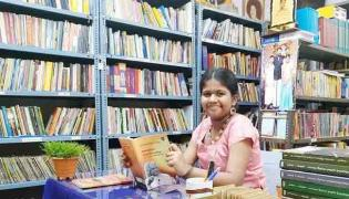 Kerala 12 Year Old Girl Started Own Free Library - Sakshi