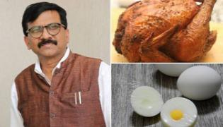Netizens Want Mutton and Beef Added To Veg Over Sanjay Raut Demand - Sakshi