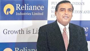 Reliance Industries posts 6.8 per cent net profit in Q1 - Sakshi