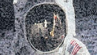 Neil Armstrong Apollo 11 On Moon - Sakshi
