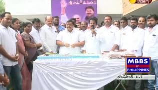 YSR birthday celebrations in Lotuspond