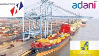 Adani group in talks with Krishnapatnam Port to acquire majority stake - Sakshi