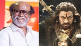 Rajinikanth Acting In Sye Raa Narasimha Reddy Source - Sakshi