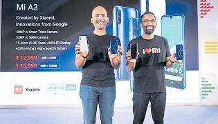 Xiaomi launch MI a3 - Sakshi