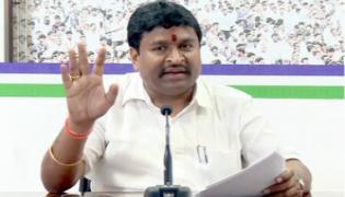 Vellampalli Srinivas Press Note About Non Hindu Campaign In Tirumala - Sakshi