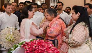 Sonia Gandhi Writes Letter To Arun Jaitleys Wife - Sakshi