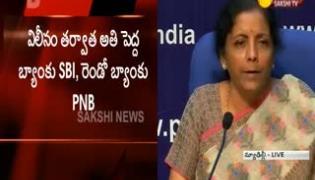 Press Conference by Union Finance Minister Nirmala Sitharaman - Sakshi