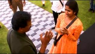 Bigg Boss Tamil 3, Losliya father Scolds Her On TV - Sakshi