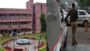 Infant Run Over By Car On NSIT Campus In Delhi - Sakshi
