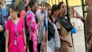 Saint Francis College For Women Restricts Students Dressing In Hyderabad - Sakshi