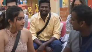 Bigg Boss 3 Telugu: Rahul Sings Song On Punarnavi - Sakshi