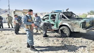 48 people died in two separate bomb attacks in Afghanistan - Sakshi